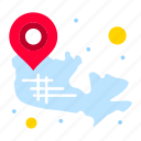 canadian, country, location, map icon