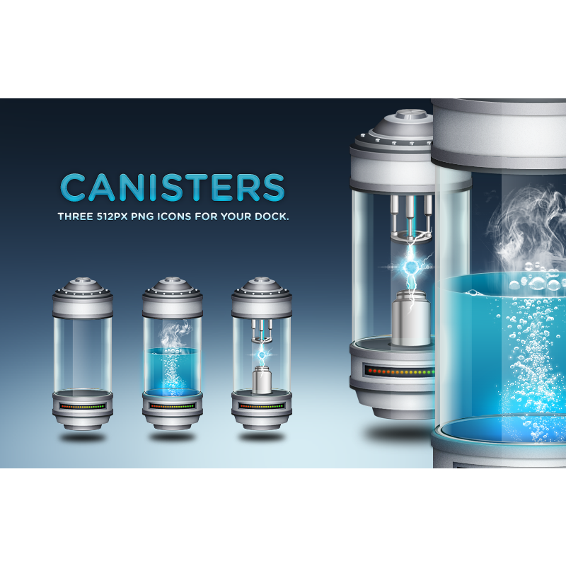 canisters icon