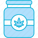 jar, cannabis, cannabidiol, cbd, bottle