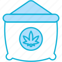 sack, cannabis, cannabidiol, marijuana, sacks, package