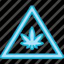 exclamation, warning, cannabis, cannabidiol, danger, caution