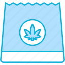 bag, paper bag, cannabis, cannabidiol, marijuana, package