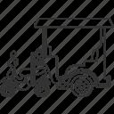 tuktuk, motorbike, wheels, vehicle, transportation