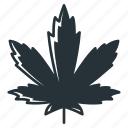 indica, cannabis, cbd, leaf, marijuana, thc, weed icon