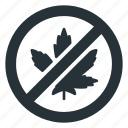 restricted, banned, cbd, drugs, leaf, marijuana, thc icon