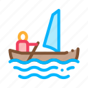 boat, canoeing, sailing, ship