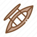 boat, canoeing, inflatable, ship icon