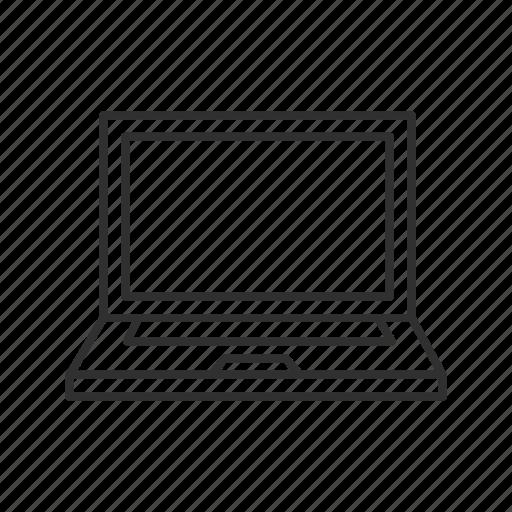 computer, laptop, laptop computer, mac, macbook, pc icon