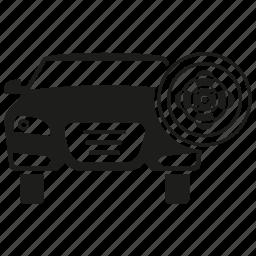 auto service, car, fan, transport, vehicle, wheel icon