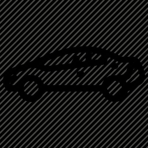 auto car, automobile, car, sedan, vehicle icon