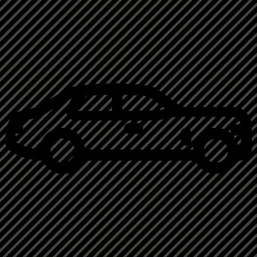 american car, cadillac deville, cadillac eldorado, personal luxury car, retro car icon