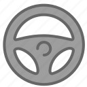 drive, fly, pilot, steer icon