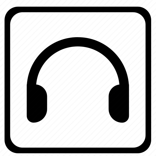 audio, car, headspeakers, listen, music icon