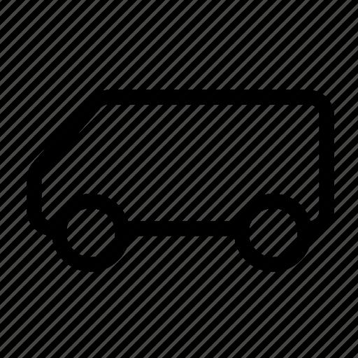 car, mini, truck, utility, van, vehicle icon