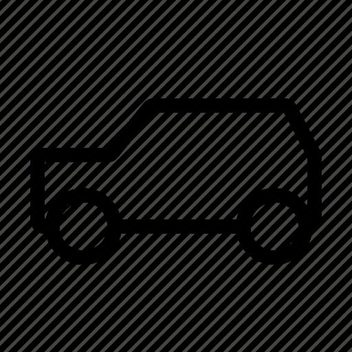 automobile, back, car, hatch, hatchback, vehicle icon