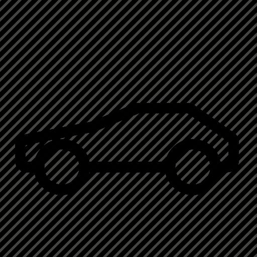 automobile, car, coupe, fast, sport, vehicle, vintage icon
