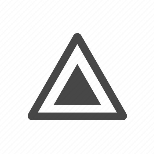 indicator, road, sign, street icon