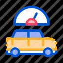 auto, car, repair, speedometer, vehicle icon