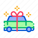 bow, car, de, gift, holiday, present, transport