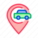 car, gps, location, map, mark, navigation