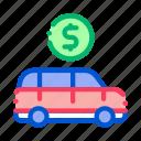 business, car, cash, coin, dollar, money