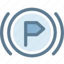 assist, car, dashboard, engine, parking, parking assist, vehicle icon