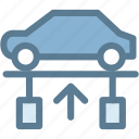 car, engine, garage, maintenance, mechanic, service, workshop icon