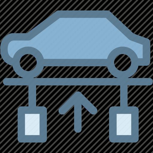 car, engine, garage, maintenance, mechanic, service, workshop icon