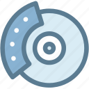 break, break disk, car, dashboard, disk, engine, vehicle icon