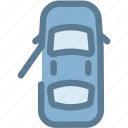 car, dashboard, doors, doors open, engine, open icon