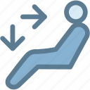 body, car, dashboard, engine, heat feet and body, heating, light icon