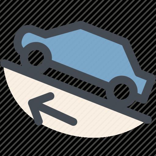 car, dashboard, descent, engine, hill decent control, resume, transportation icon