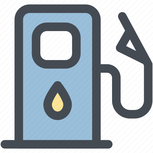car, engine, fuel, low, low fuel, oil, warning icon