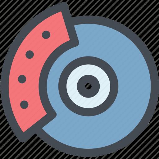 break, break disk, car, dashboard, disk, engine, vehicle icon
