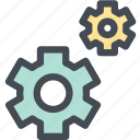 automation, car, cog, engine, gear, machine, settings icon
