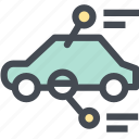 car, car check, car insurance, car into the center, dashboard, engine, vehicle icon