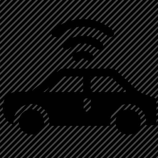 autonomous car, car, car wifi, dashboard, driverless car, engine, self driving car icon
