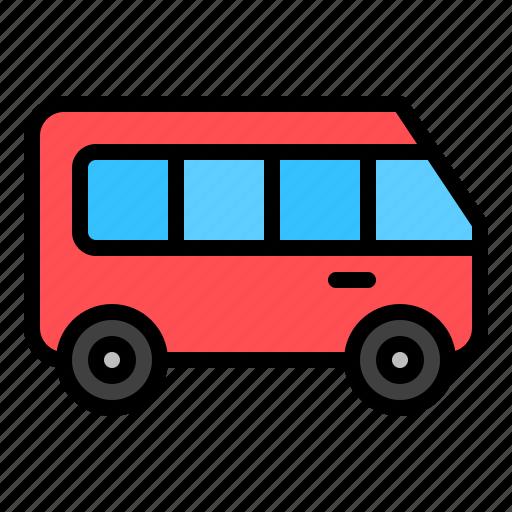 car, transport, travel, van, vehicle icon