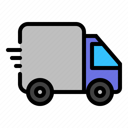 car, delivery truck, transport, travel, truck, vehicle icon