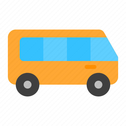 bus, car, transport, travel, vehicle icon