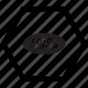 auto, car, land, logo, rover icon