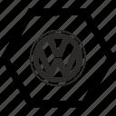 auto, brand, car, label, logo, volkswagen, vw