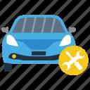 car alignment, car maintenance, car repairing, vehicle care, vehicle resources icon