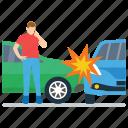 car accident, car breakdown, car crash, road accident, vehicle collision, vehicle mishap