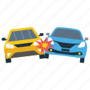car accident, car breakdown, car collision, car crash, road accident, vehicle mishap