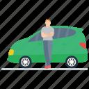 convertible car, mini car, personal car, transport, vehicle icon