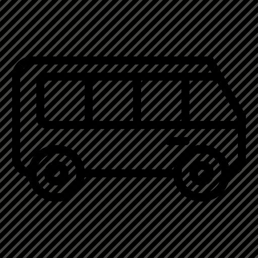 bus, car, transport, travel, vehicle icon