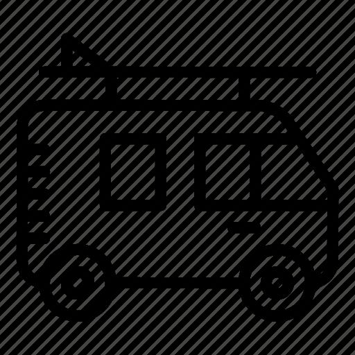 car, surfvan, transport, travel, van, vehicle icon