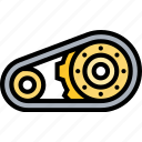drive, belt, engine, machine, motor