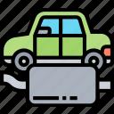 exhaust, pipe, muffler, smoke, automobile